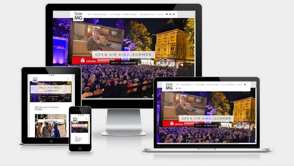 Webdesign: DeinMG